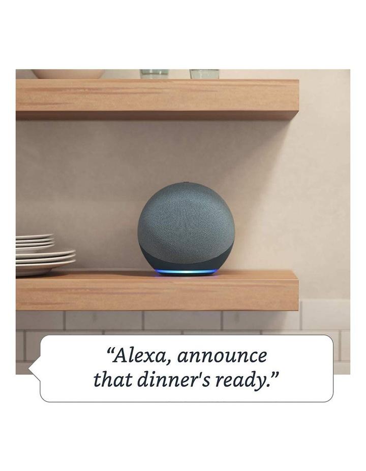 Amazon Echo with Alexa (4th Gen) Charcoal image 5