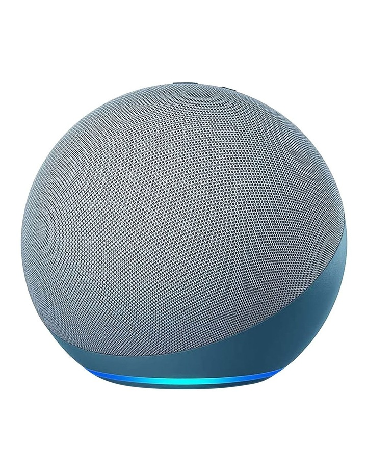 Amazon Echo with Alexa (4th Gen) Twilight blue image 1