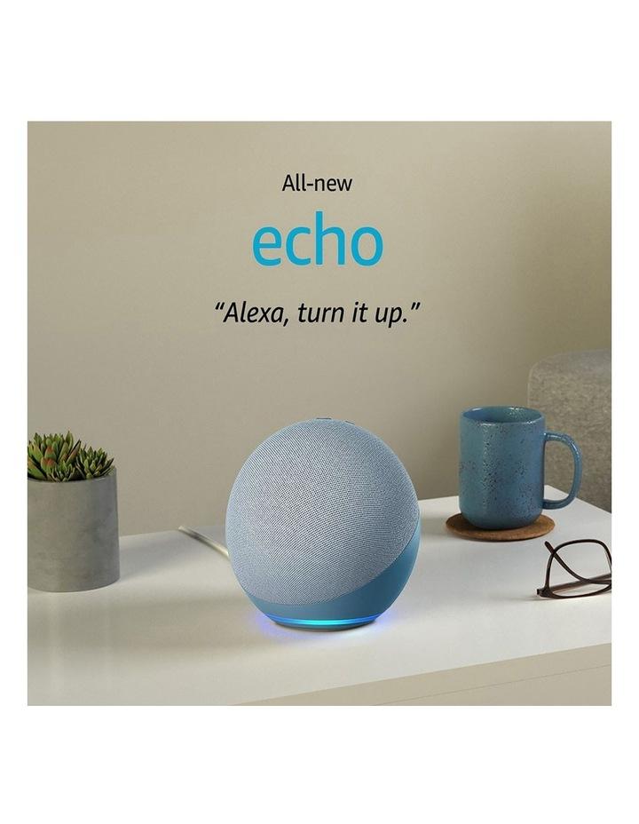 Amazon Echo with Alexa (4th Gen) Twilight blue image 2