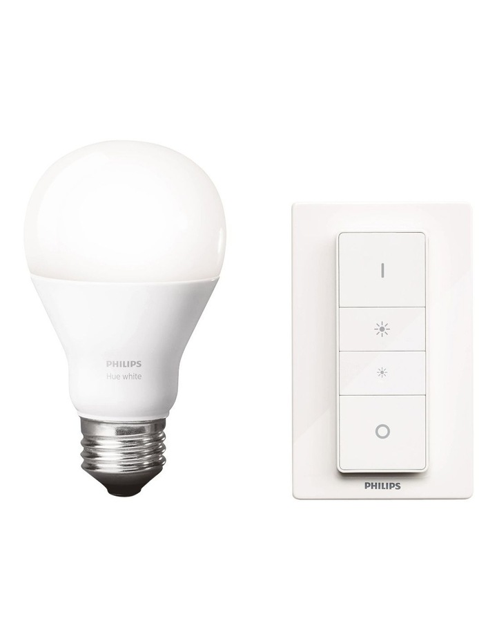 HUE Dimming Kit - Dimmer Switch   1 White E27 Bulb image 1