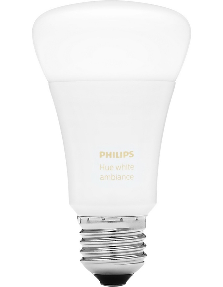 HUE White Ambiance E27 Dimmable LED Edison Screw Bulb image 2