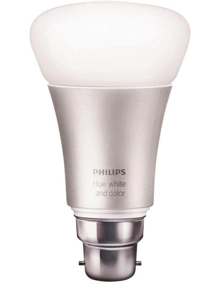 HUE White & Colour B22 Dimmable LED Bayonet Bulb image 1