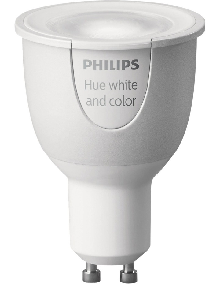 HUE White & Colour GU10 Dimmable LED Downlight image 2