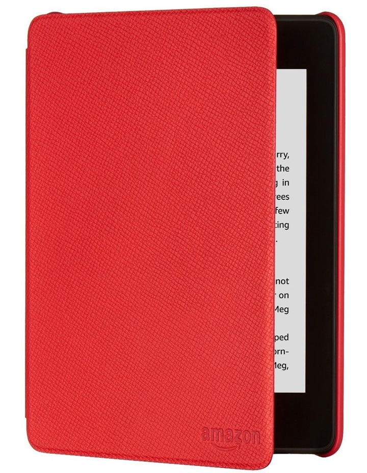 Paperwhite (10th Gen) Leather Cover - Red image 1