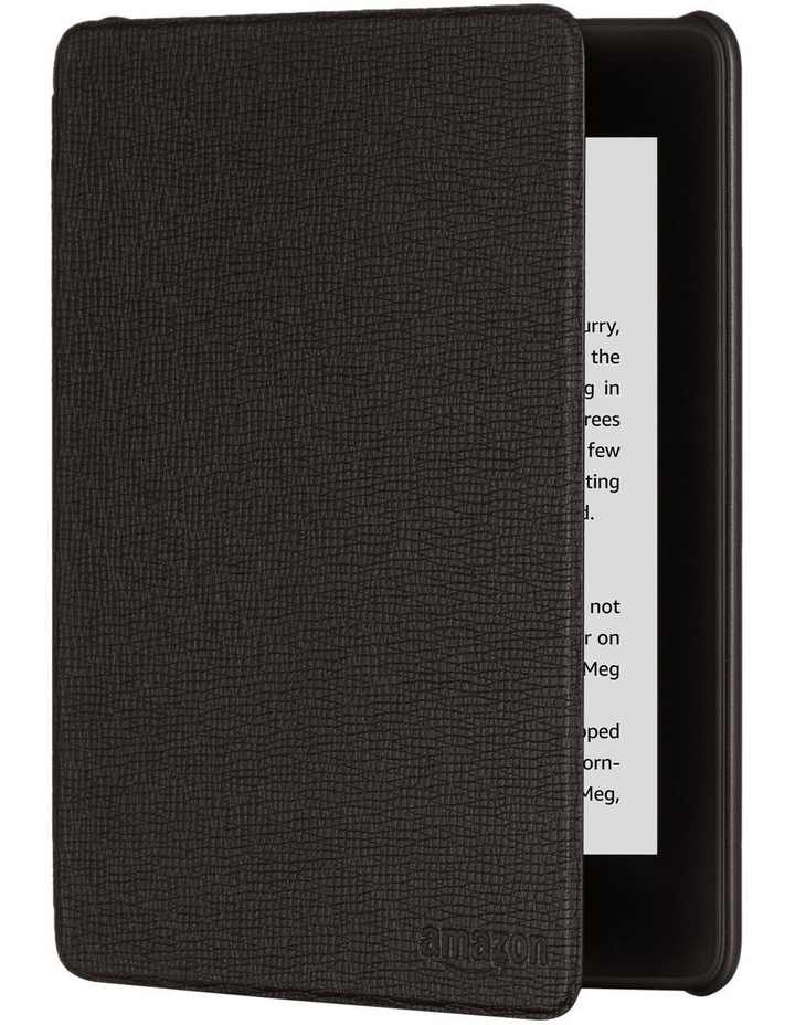 Paperwhite (10th Gen) Leather Cover - Black image 1