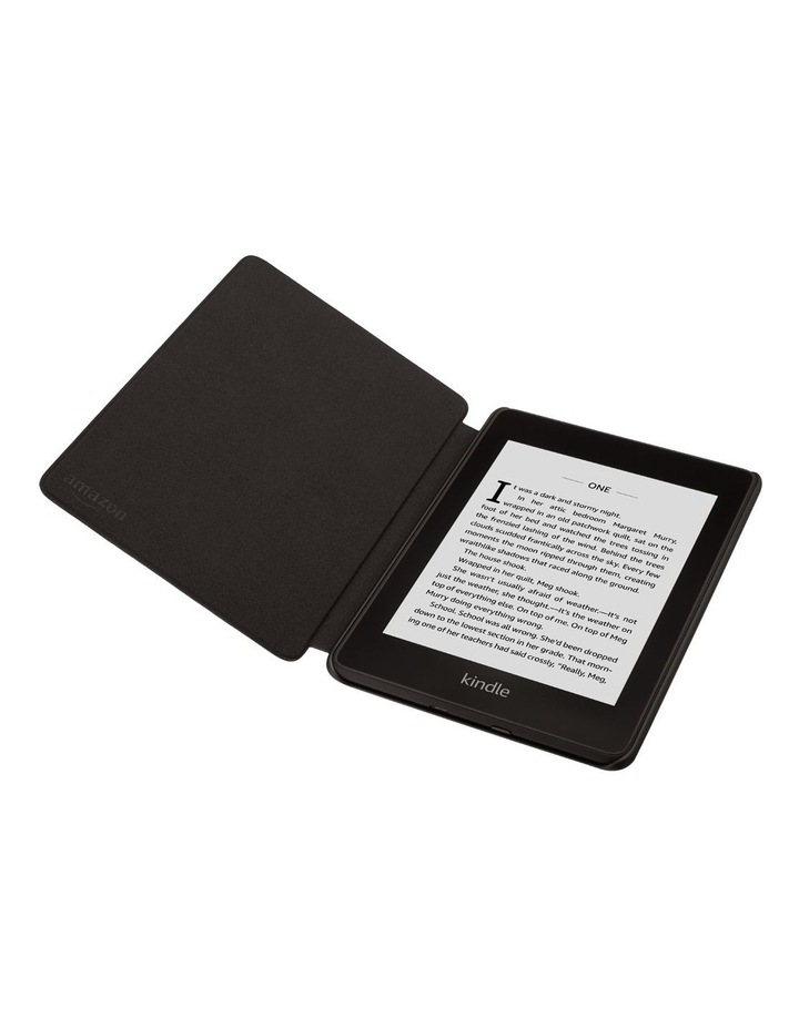 Paperwhite (10th Gen) Leather Cover - Black image 4