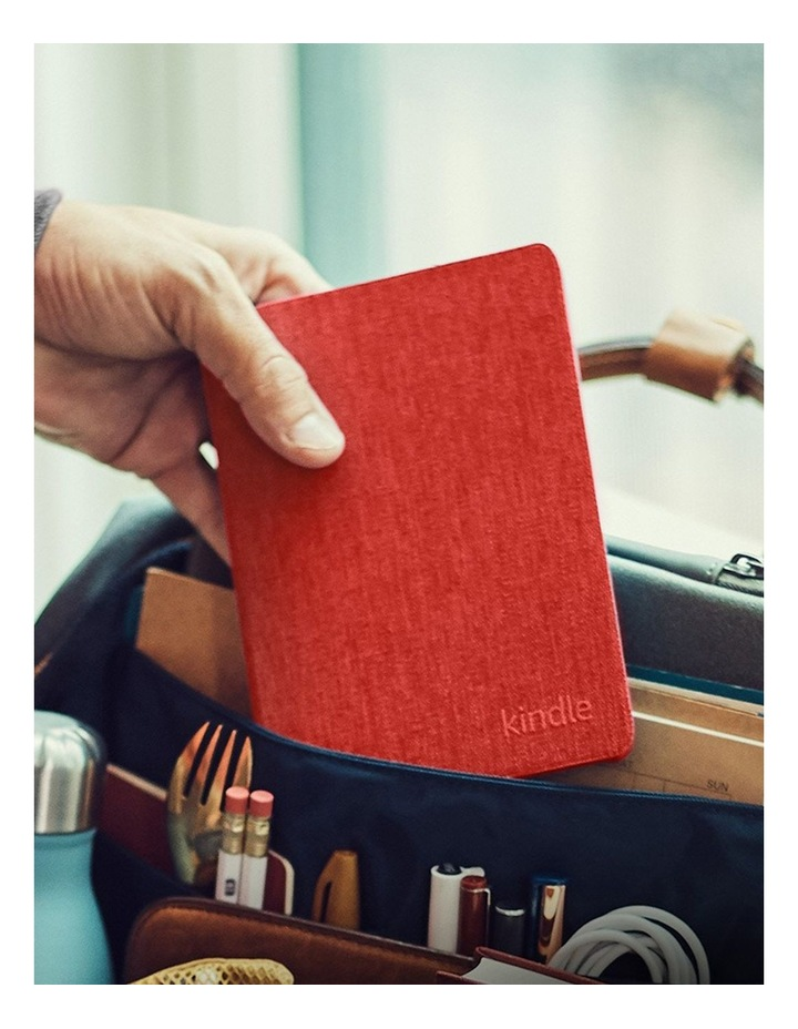 Kindle Fabric Cover (2019)- Punch Red image 2
