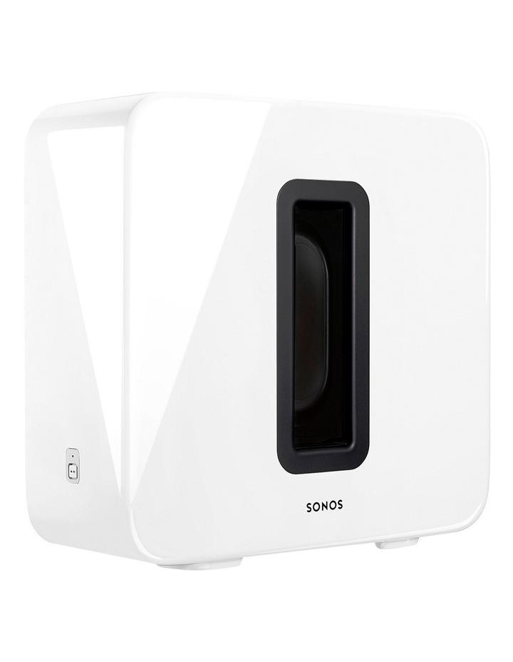 SUB Wireless Subwoofer - White image 1
