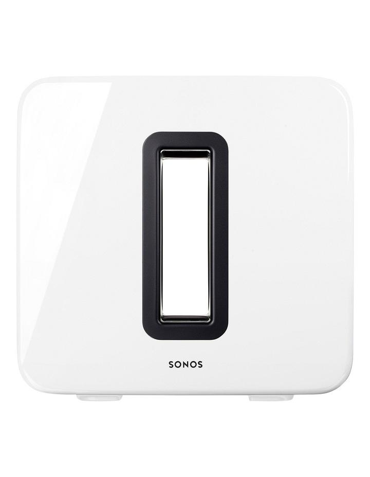 SUB Wireless Subwoofer - White image 2