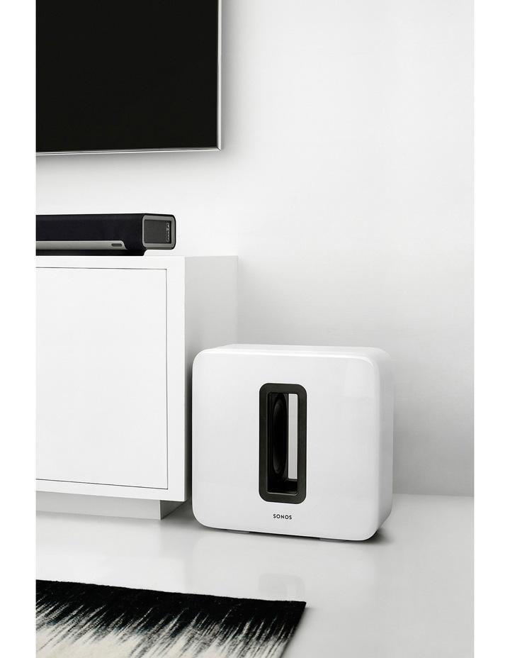 SUB Wireless Subwoofer - White image 3