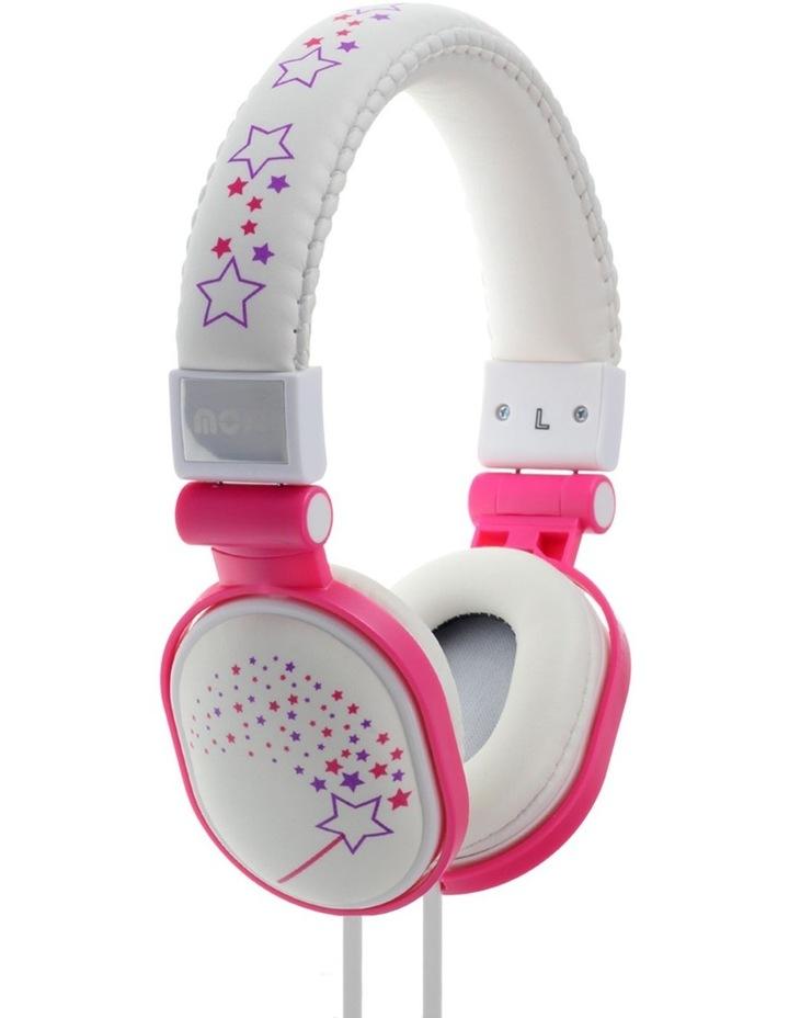 Poppers Headphones Sparkles - White image 1