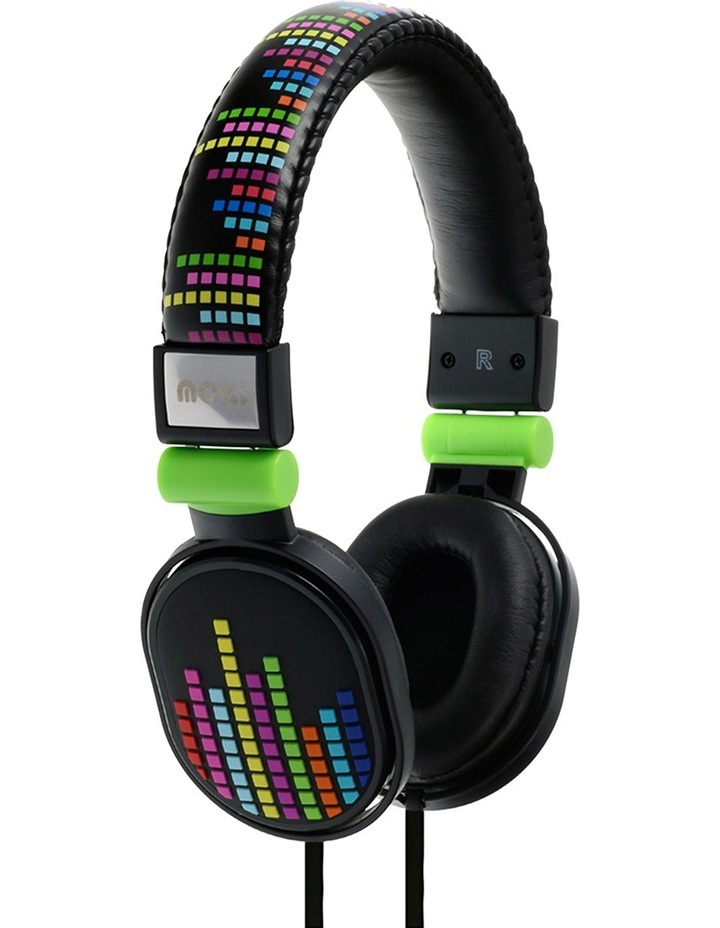 Popper Kids On-Ear Headphones - Levels Black image 1