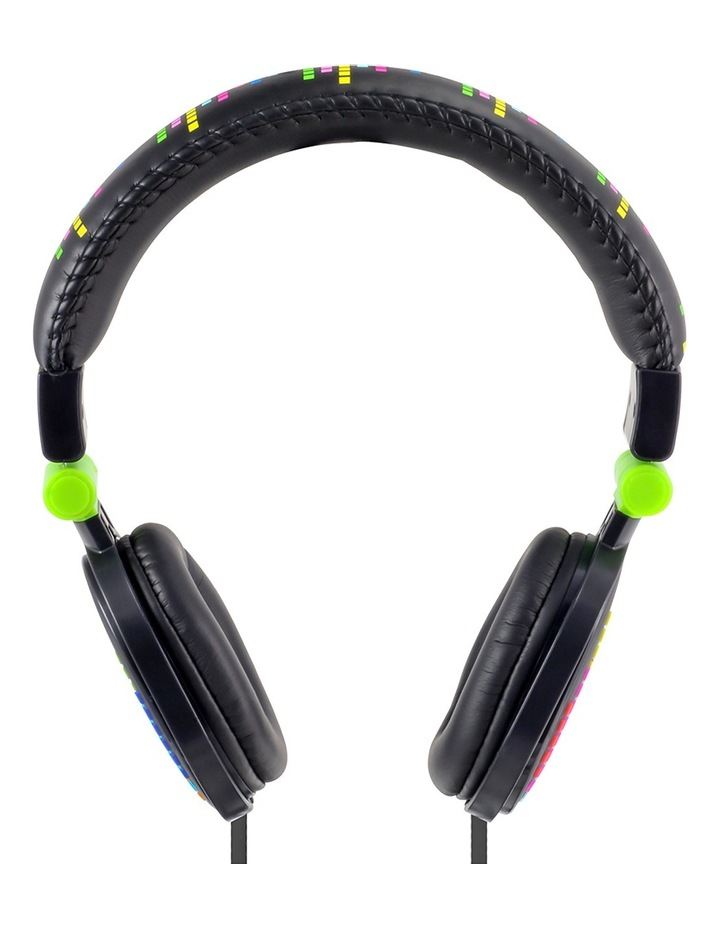 Popper Kids On-Ear Headphones - Levels Black image 2