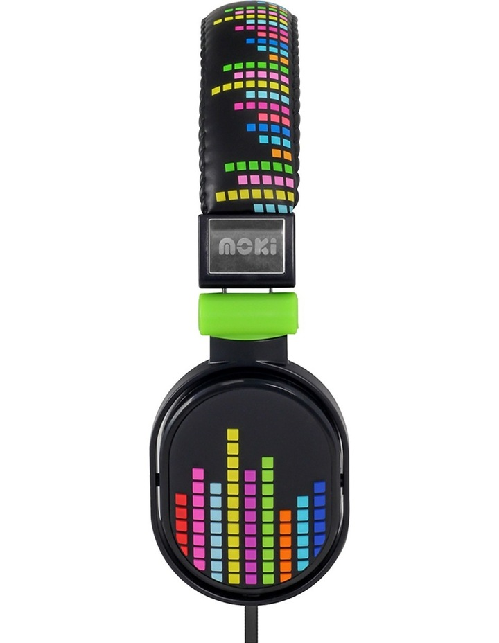 Popper Kids On-Ear Headphones - Levels Black image 3