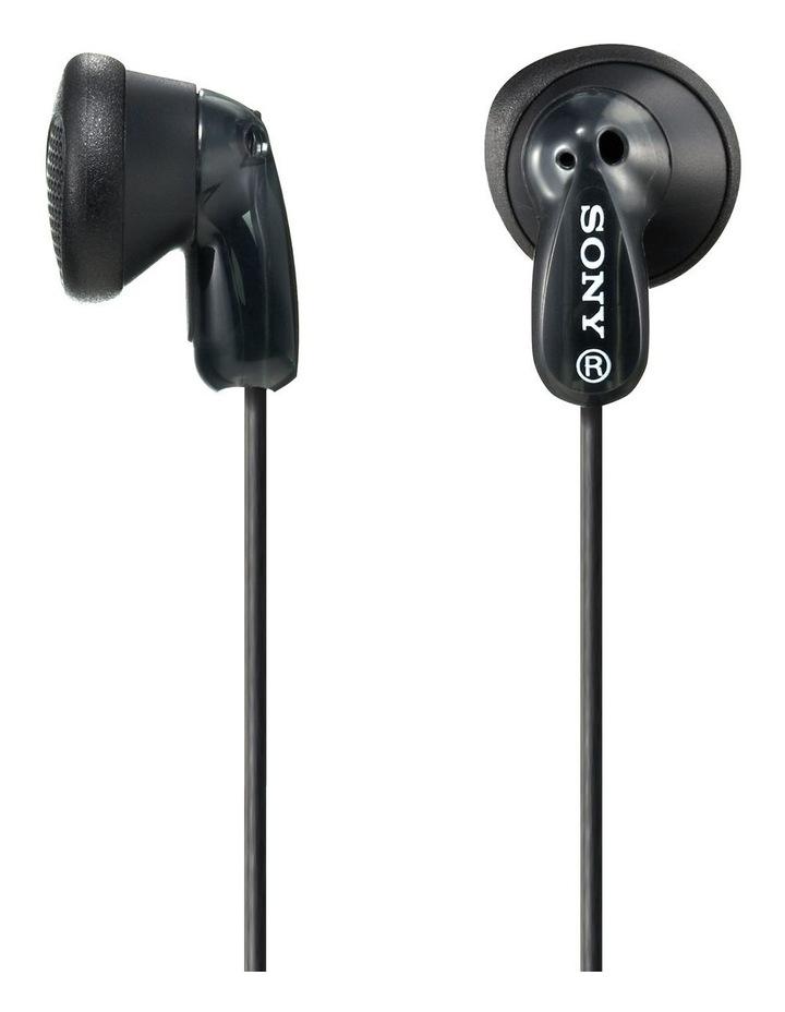 In-Ear Headphones Black  MDRE9LPB image 1