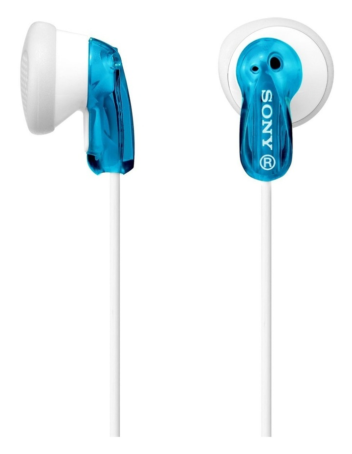 In-Ear Headphones Blue  MDRE9LPL image 1