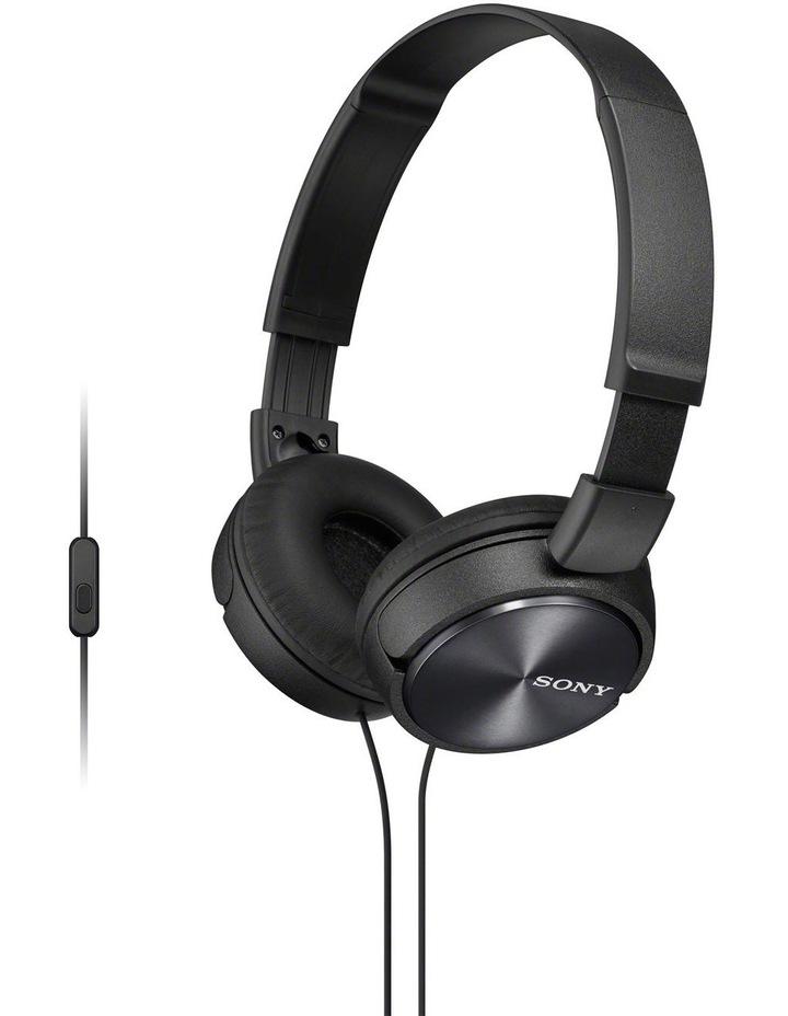 On-Ear Headphones Black MDRZX310APB image 1