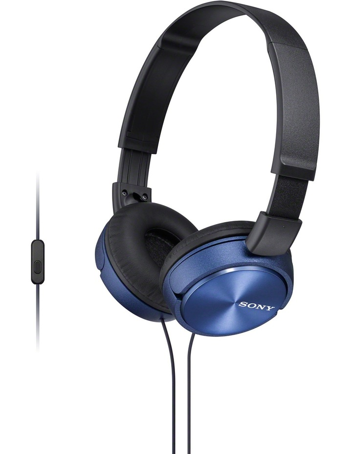 Sony MDRZX310APL On-Ear Headphones: Blue image 1