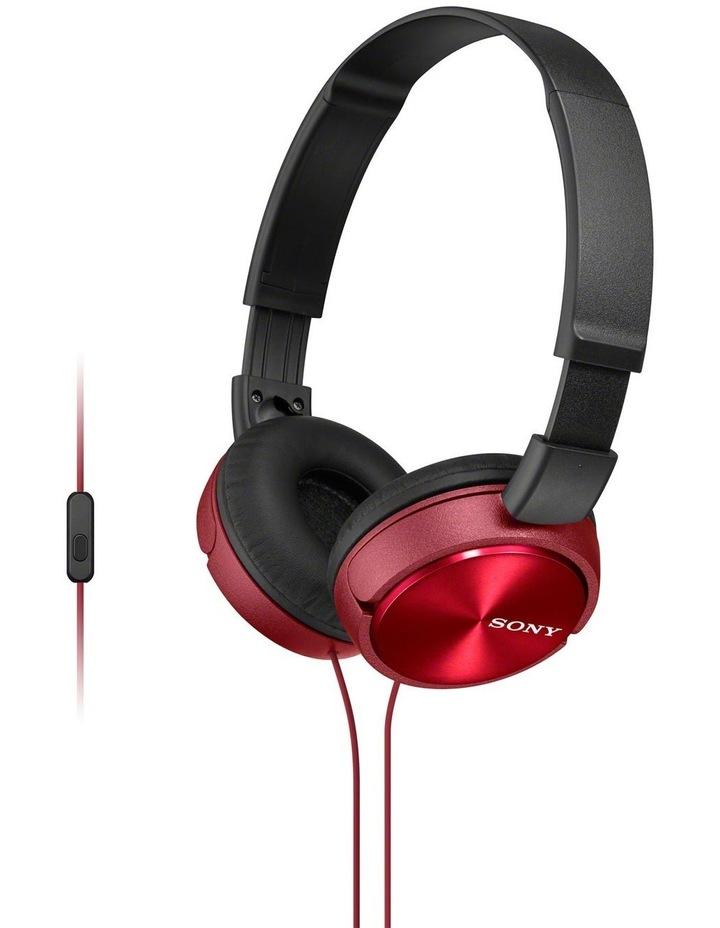 On-Ear Headphones Red MDRZX310APR image 1