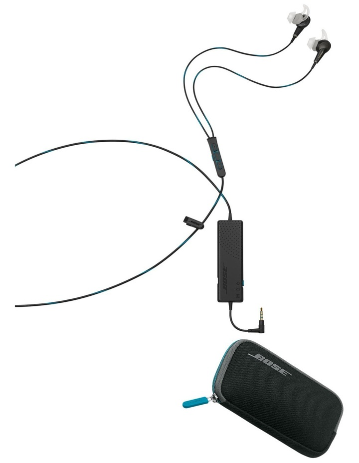 QC®20 Acoustic Noise Cancelling in-ear headphones for Apple Black image 2