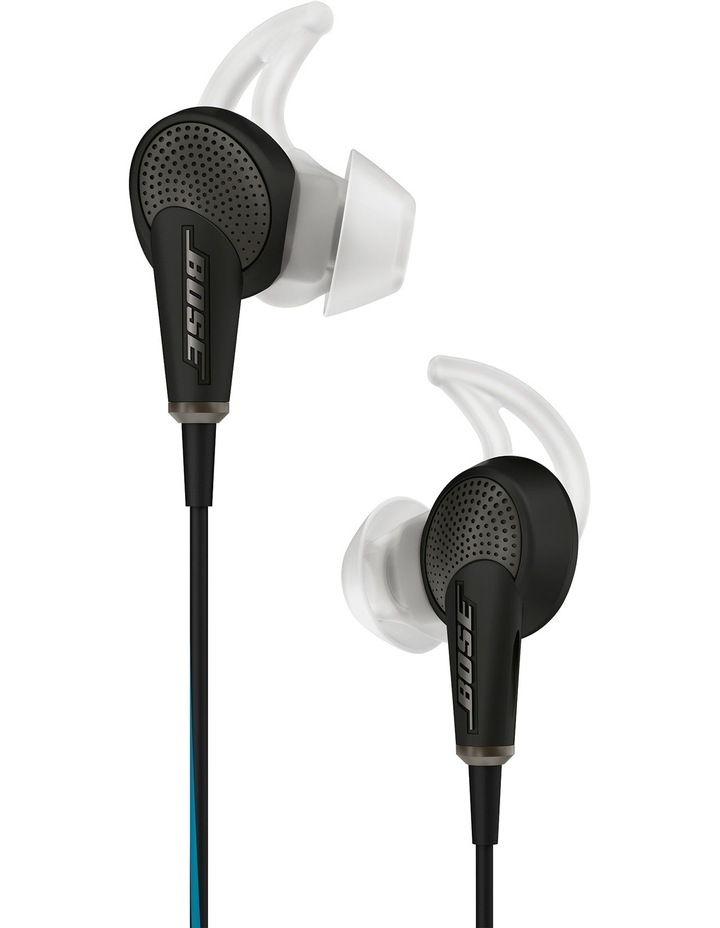 QC®20 Acoustic Noise Cancelling in-ear headphones for Apple Black image 4
