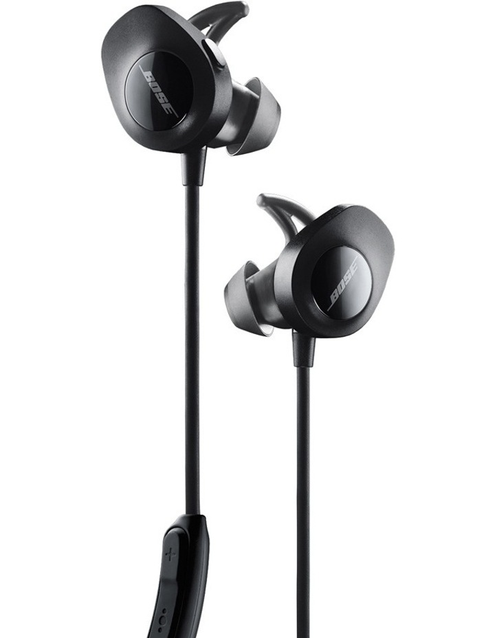 SoundSport® Wireless In-Ear Headphones Black image 1