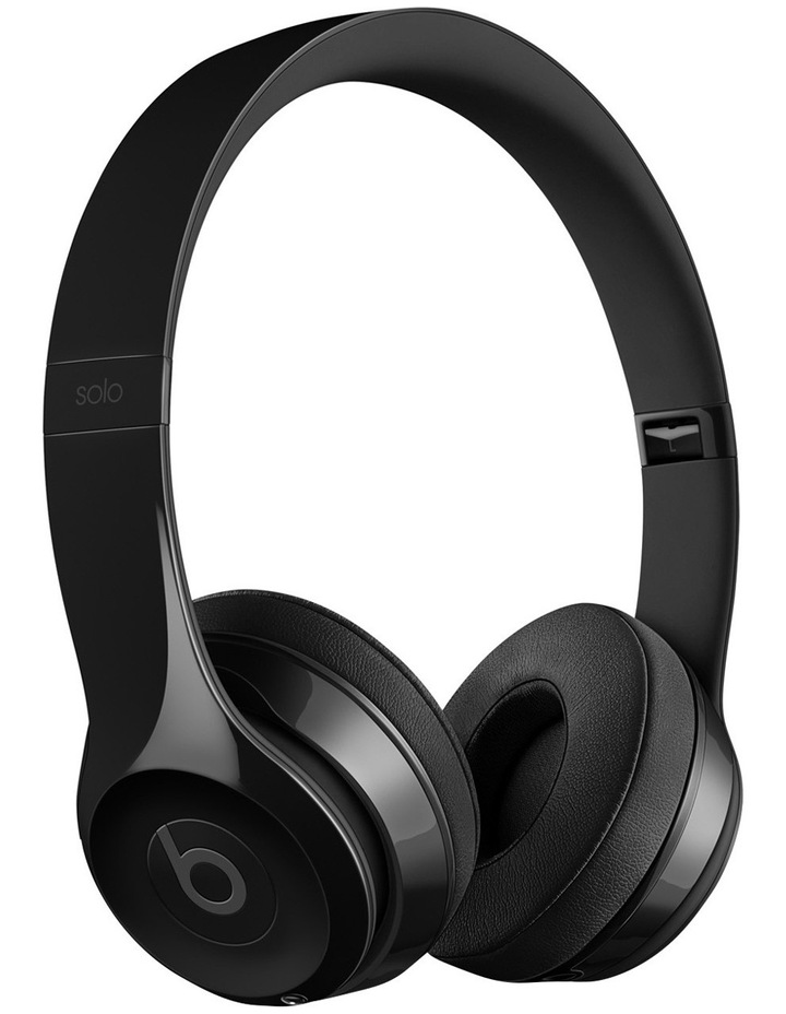 Solo 3 Wireless On-Ear Headphones - Gloss Black image 1