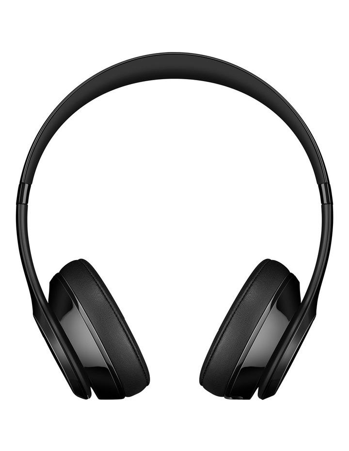 Solo 3 Wireless On-Ear Headphones - Gloss Black image 2