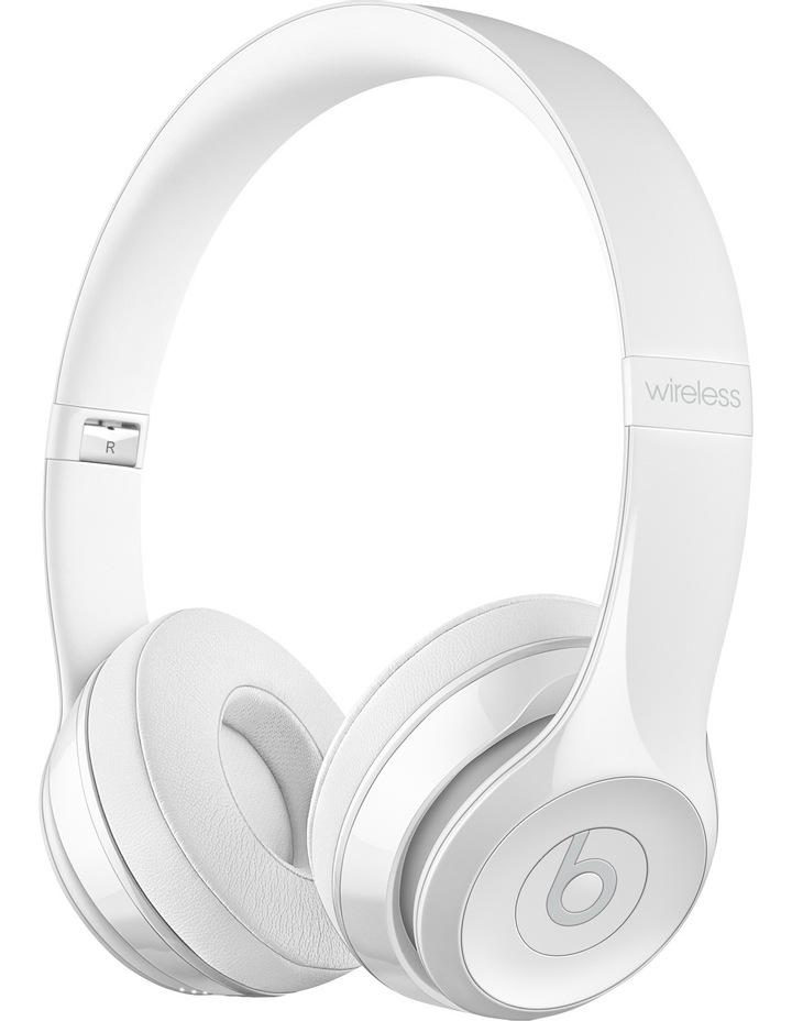 Solo 3 Wireless On-Ear Headphones - Gloss White image 2