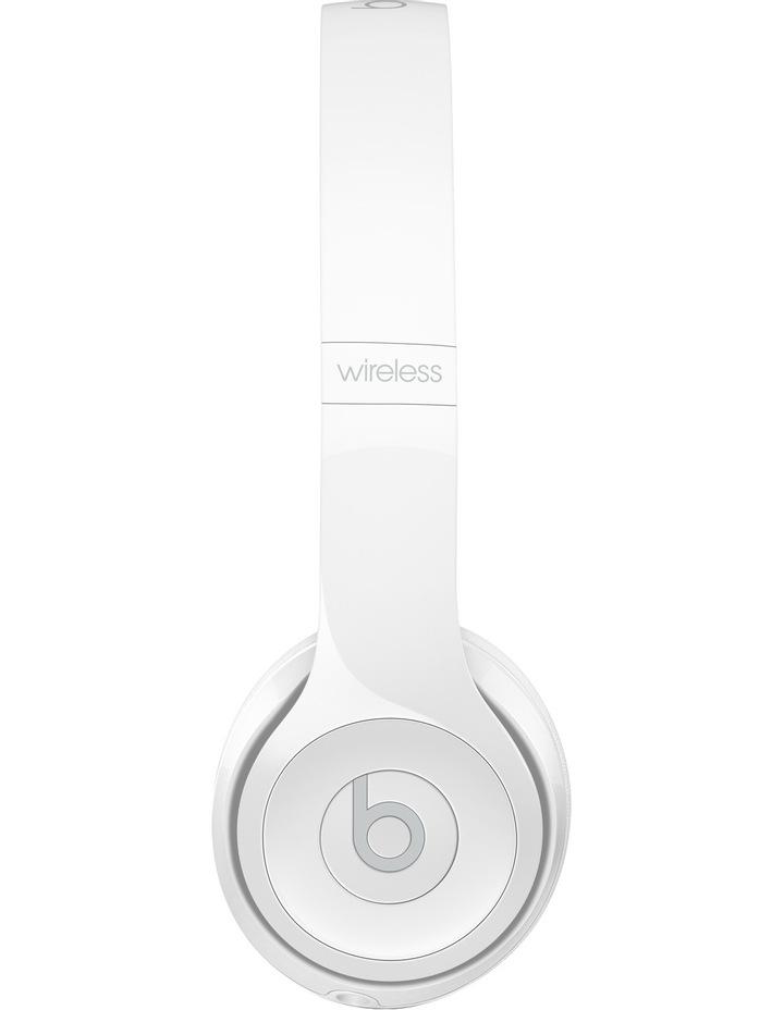 Solo 3 Wireless On-Ear Headphones - Gloss White image 4