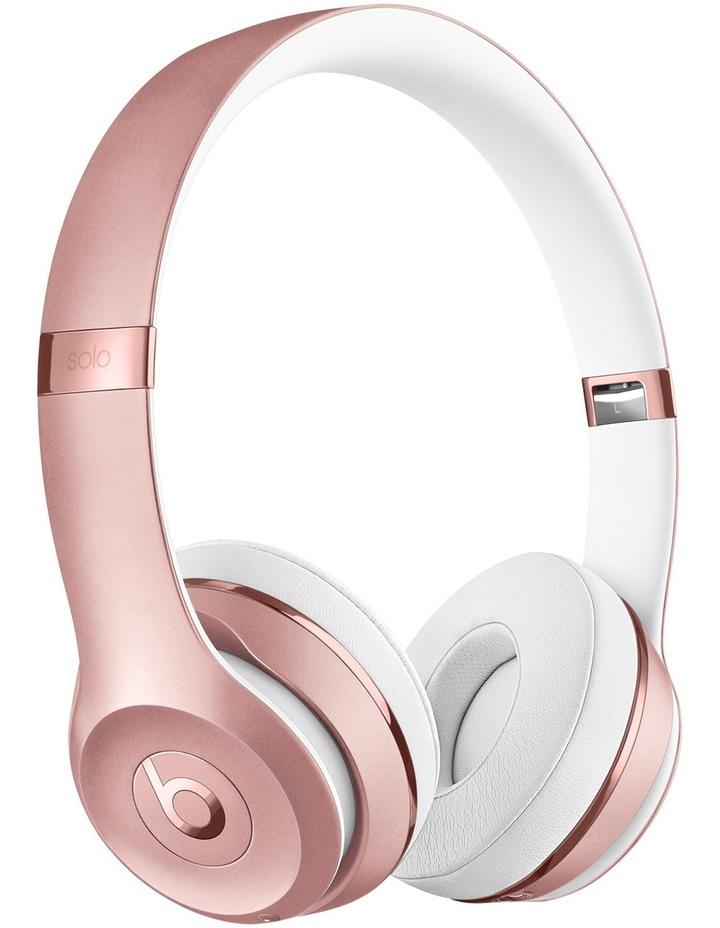 Solo 3 Wireless On-Ear Headphones - Rose Gold image 1