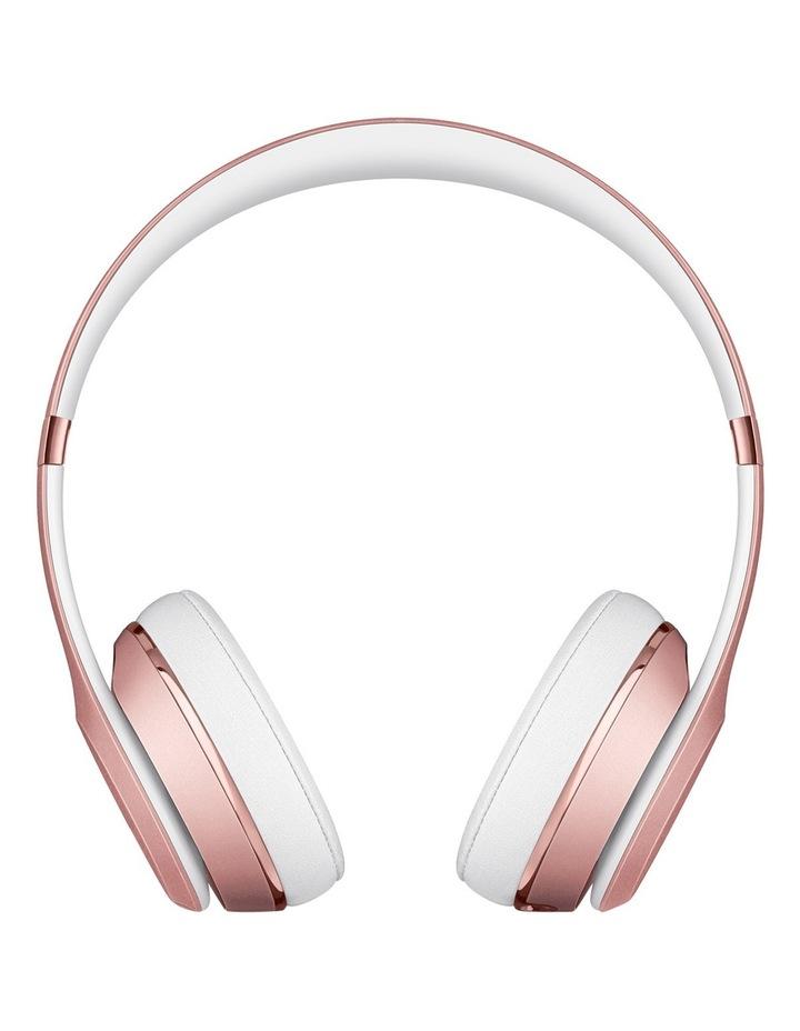 Solo 3 Wireless On-Ear Headphones - Rose Gold image 2