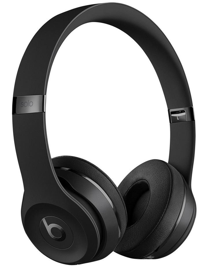 Solo 3 Wireless On-Ear Headphones - Matte Black image 1