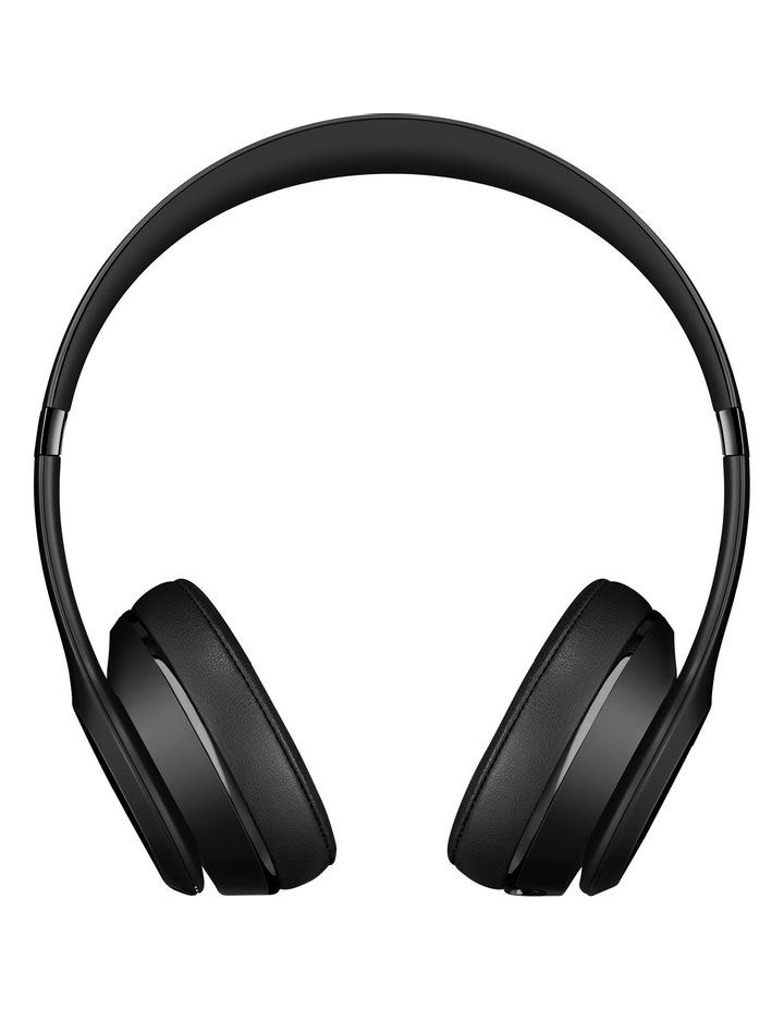 Solo 3 Wireless On-Ear Headphones - Matte Black image 2