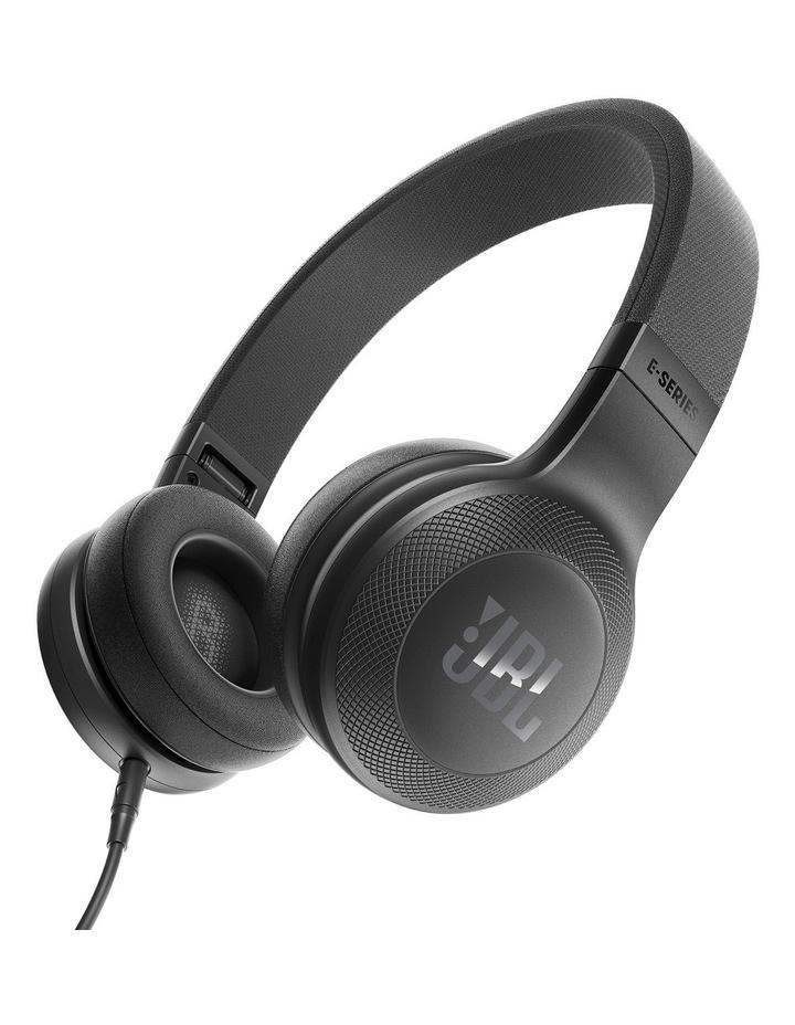 JBL E35 on-ear headphones Black image 1