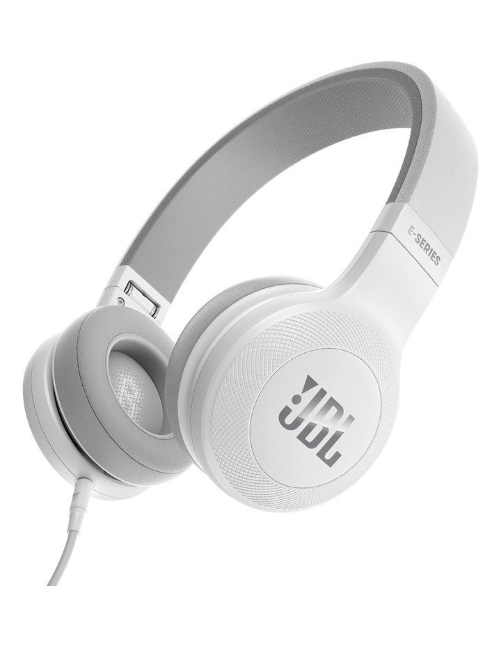 JBL E35 on-ear headphones White image 1