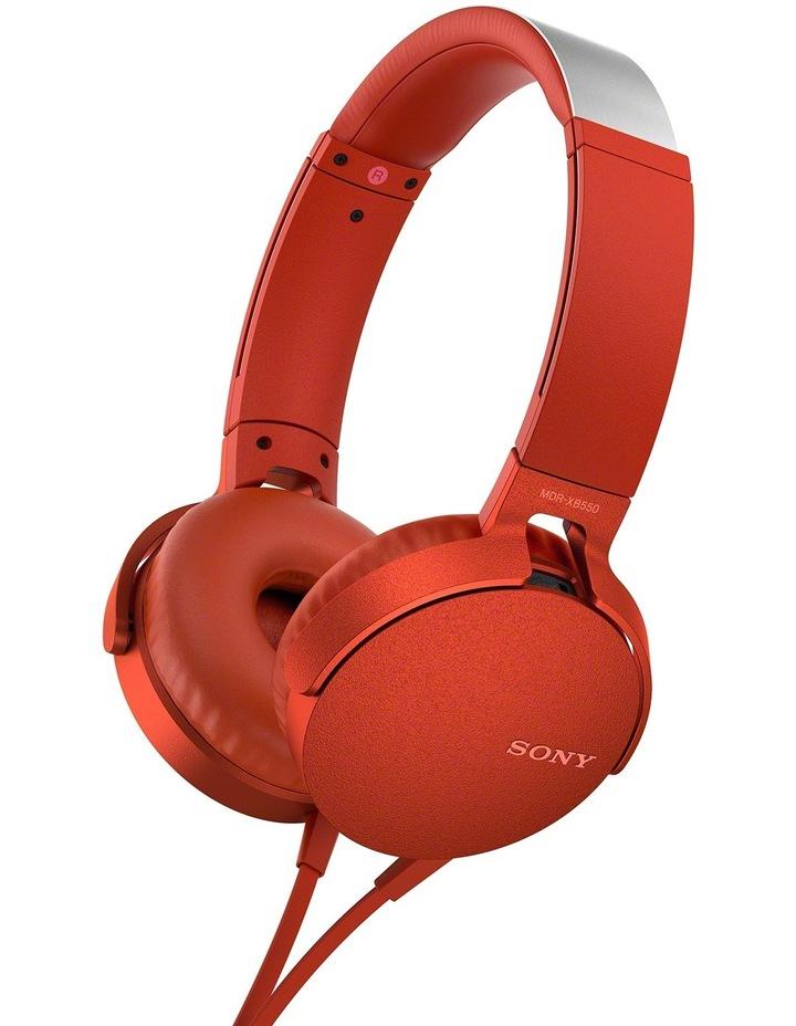 9690559597d Sony | MDR-XB550 XB On-Ear Headphones - Red | MYER