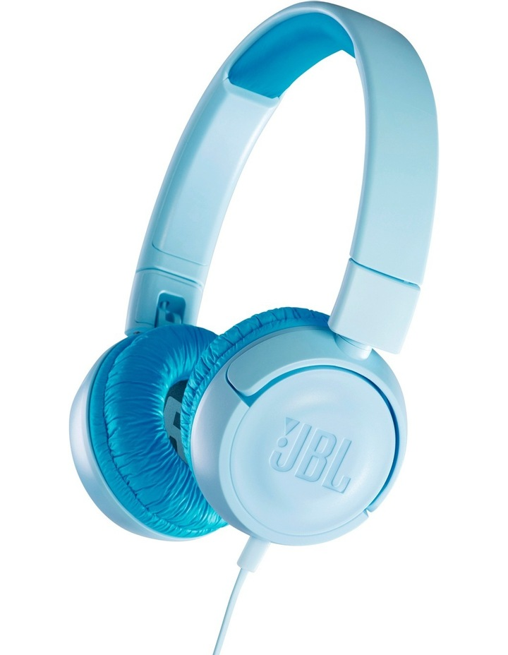 JR300 Kids On-Ear Headphones - Blue image 1