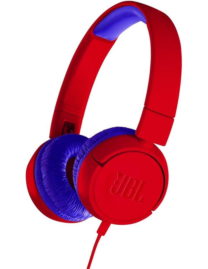 JR300 Kids On-Ear Headphones - Red image 1