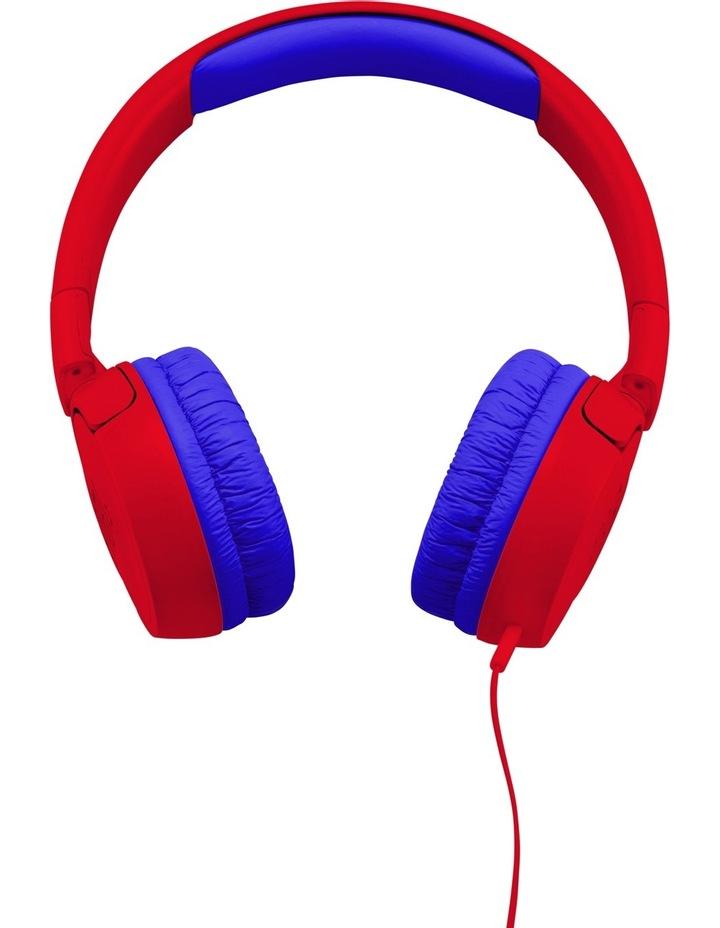 JR300 Kids On-Ear Headphones - Red image 2
