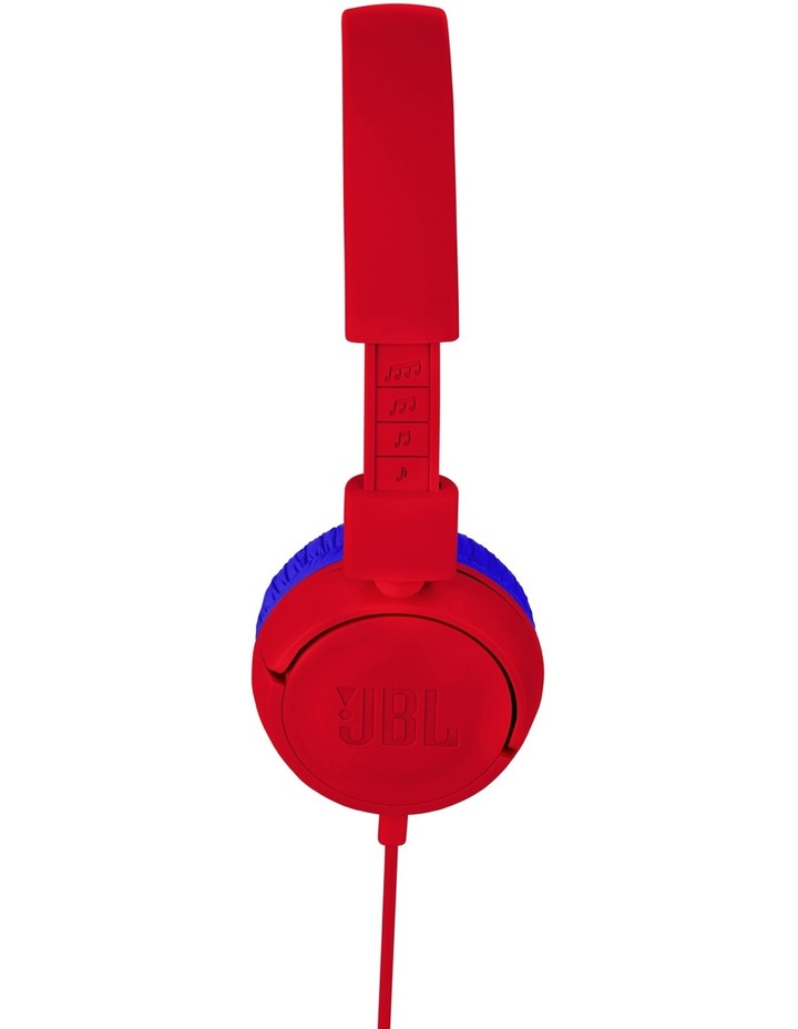 JR300 Kids On-Ear Headphones - Red image 3