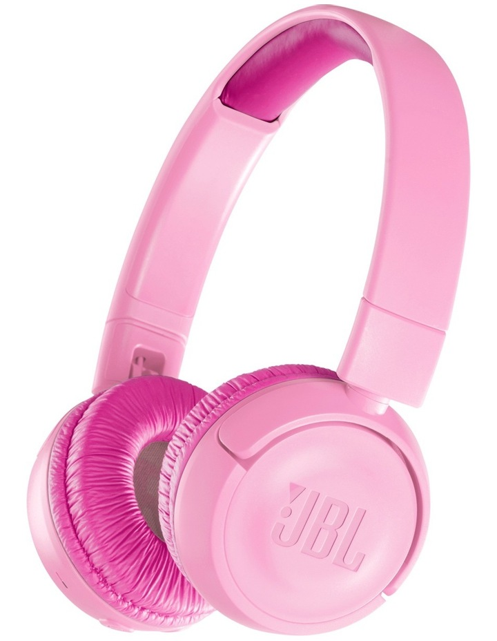 JR300 Kids Bluetooth On-Ear Headphones - Pink image 1