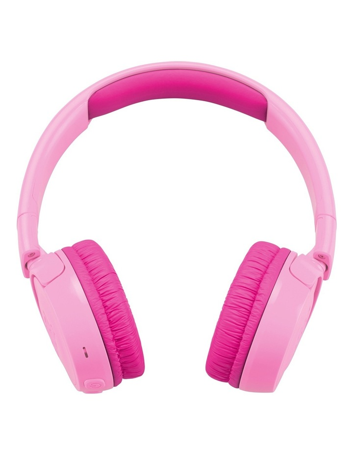 JR300 Kids Bluetooth On-Ear Headphones - Pink image 2