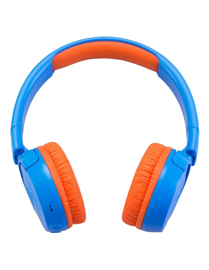 JR300 Kids Bluetooth On-Ear Headphones - Blue / Orange image 2