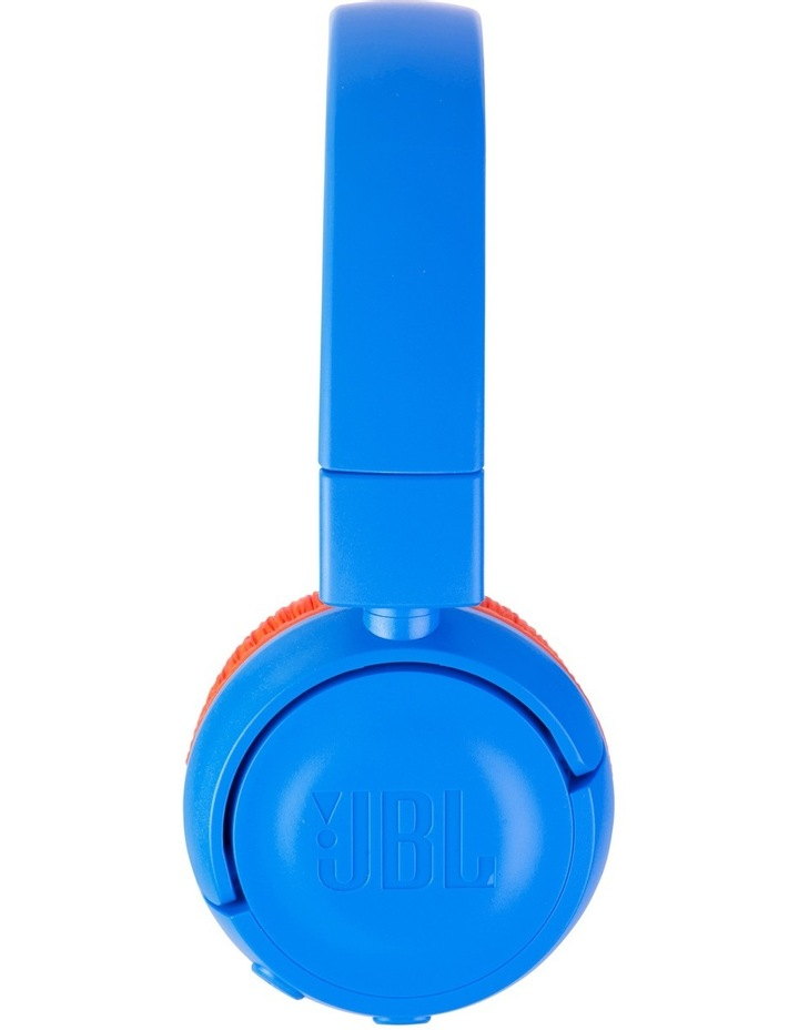 JR300 Kids Bluetooth On-Ear Headphones - Blue / Orange image 3