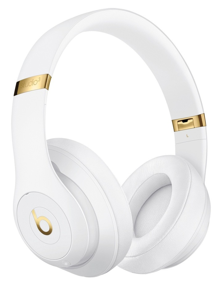 Studio 3 Wireless Over-Ear Headphones - White image 1