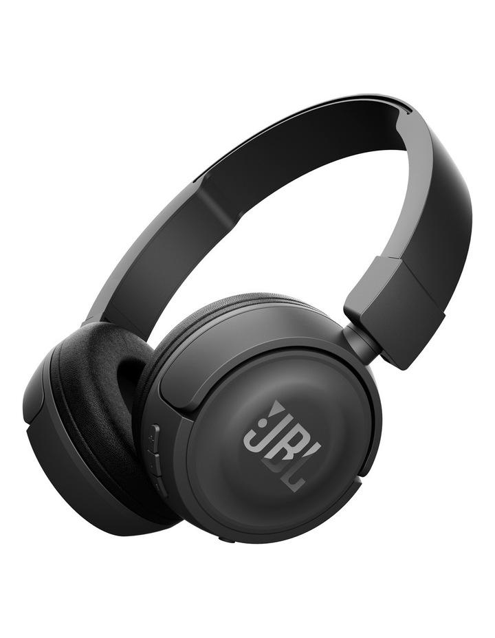 T450BT Wireless On-Ear Headphones - Black image 1