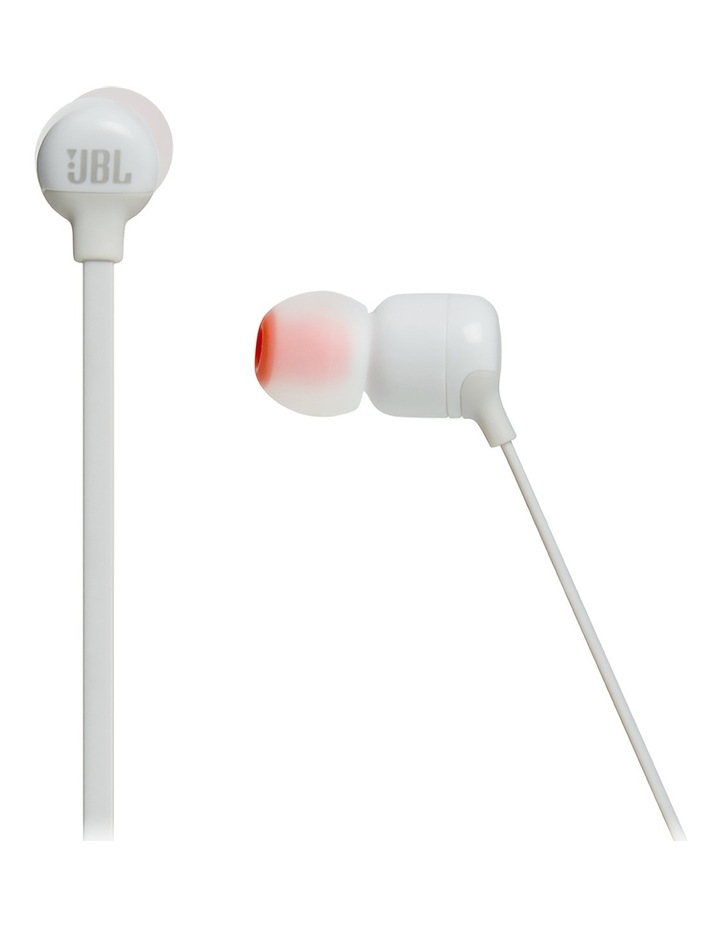 Tune 110BT Wireless In-Ear Headphones  White image 2