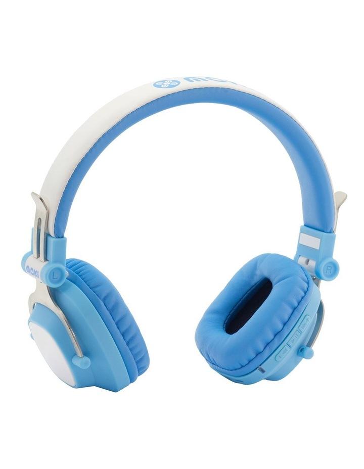 Popper Kids On-Ear Headphones - Skull Black image 1