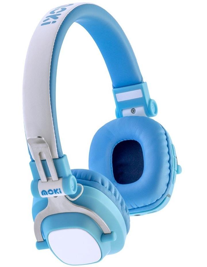 Popper Kids On-Ear Headphones - Skull Black image 4